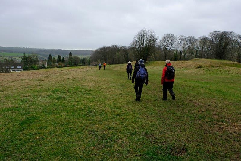 Heading towards the Walkers CP