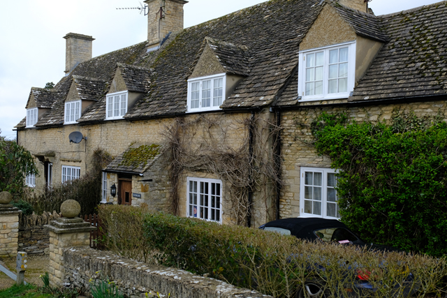 And quaint cottages in Great Rissington
