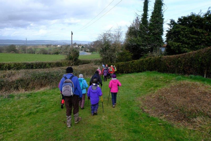 We set off, looking colourful