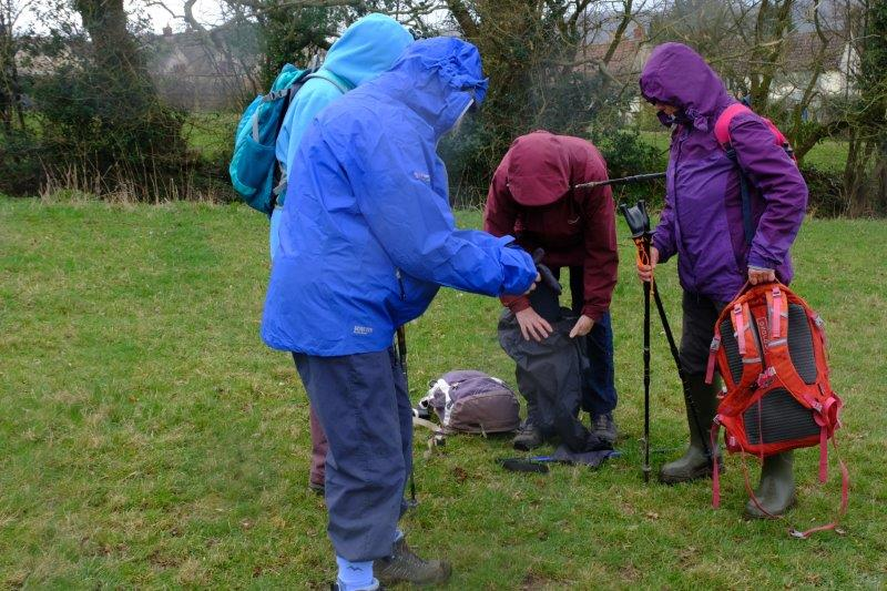 Waterproofs needed before we have gone too far