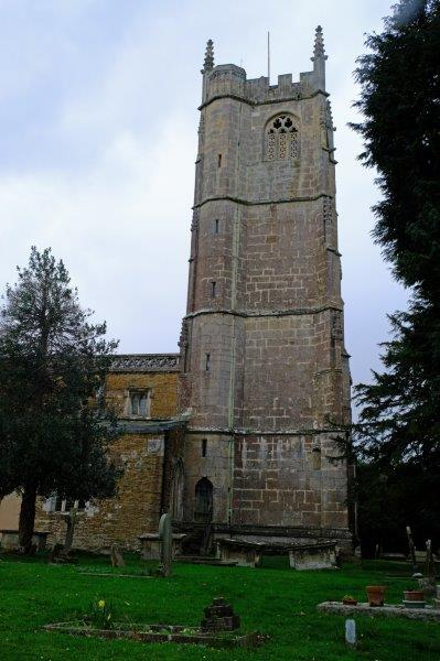 The tall tower of Cam Church