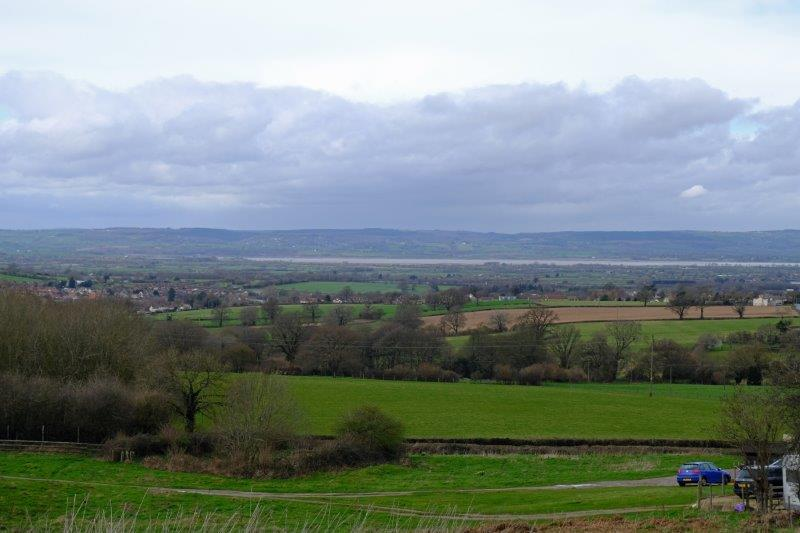Towards Cam Peak and views over the Severn Valley