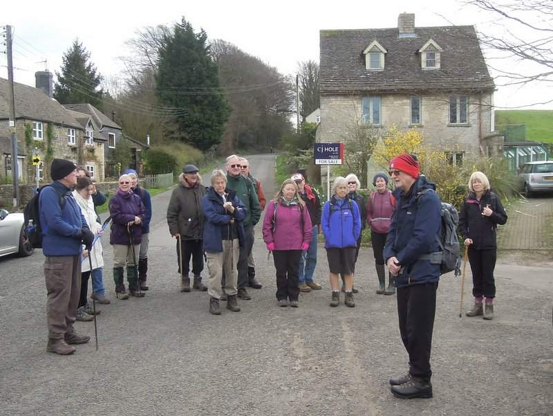 And Tim outlines the walk he is leading with Ann