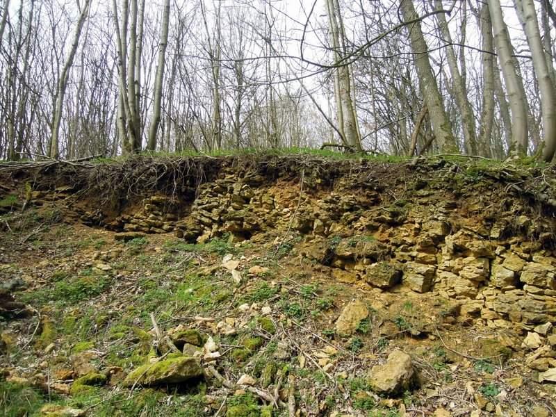 Bunker / outcrop