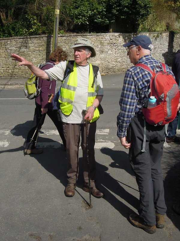 And thank John and Ron for the walk and the backmarking.