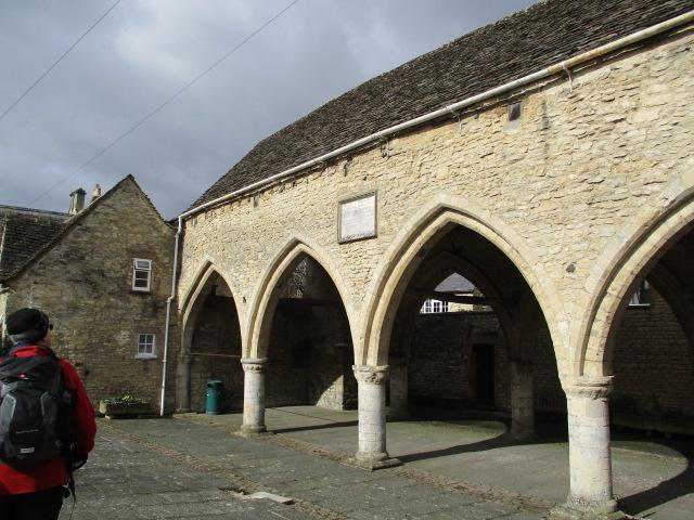 Past St. John's Hospital Chantry in Spital Gate