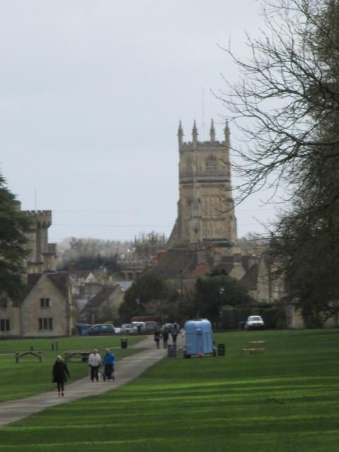 Views behind to the Parish Church