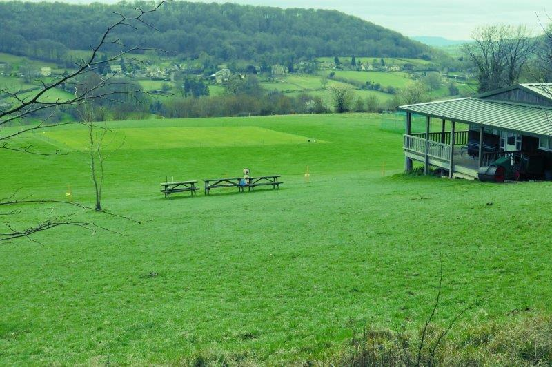 And the Laurie Lee cricket ground