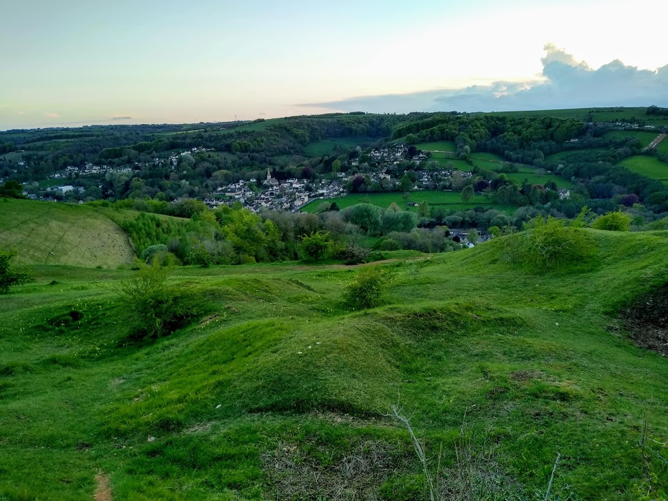 A view over to Woodchester (South and North)
