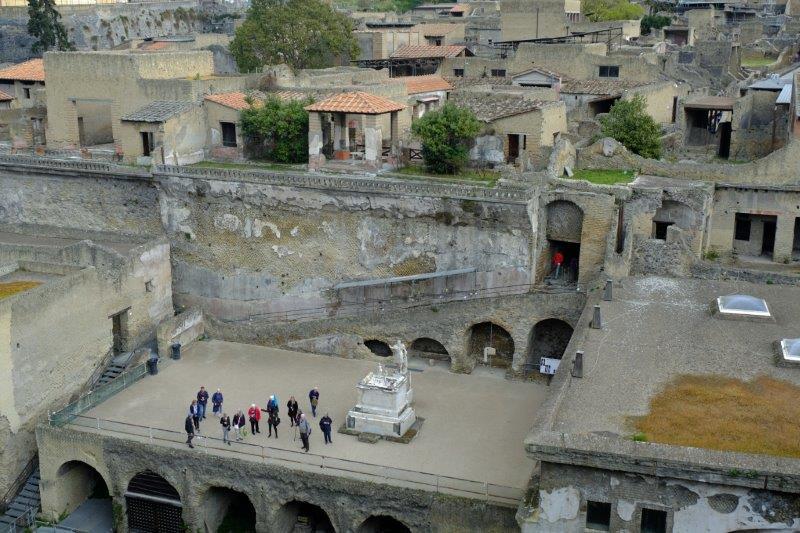 Looking over Herculaneum