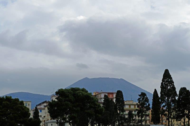 Mount Vesuvius again