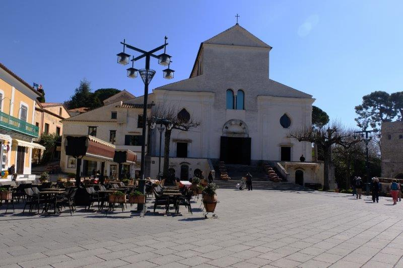 And the town square with church