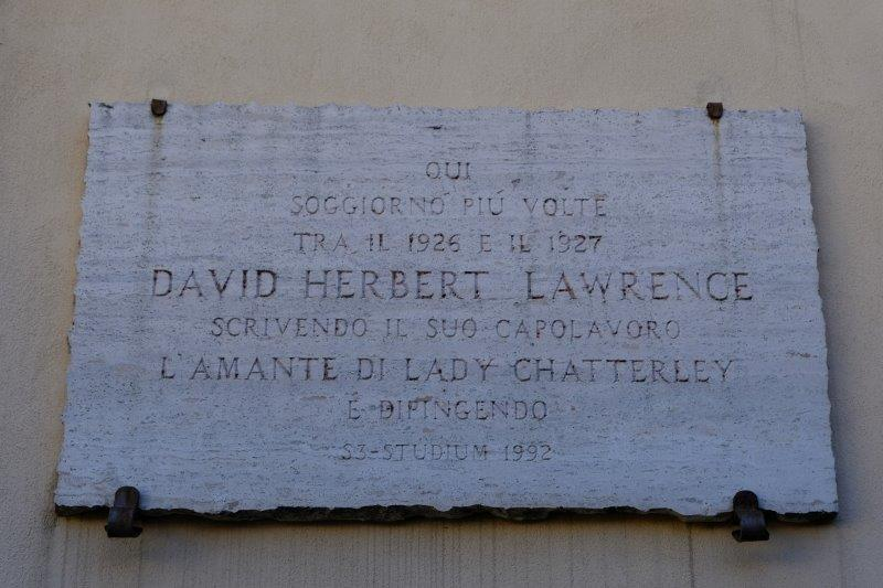 D H Lawrence spent some time here writing a book