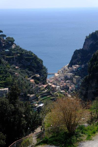 The smallest town in Italy - not much scope for development