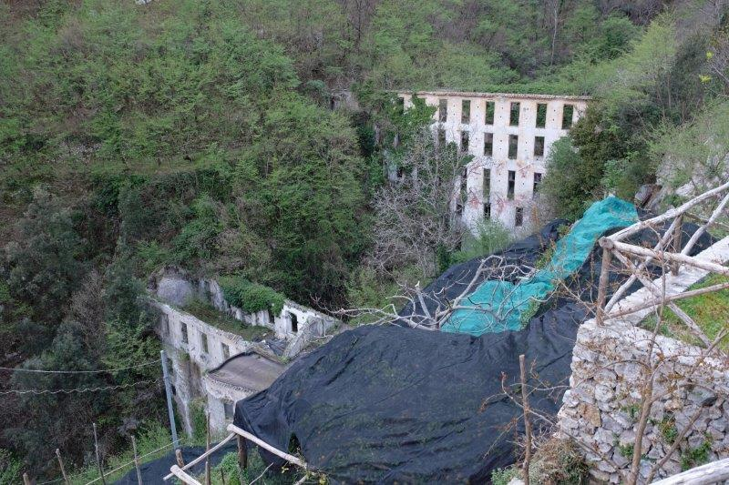 Lemon groves and another derelict paper mill