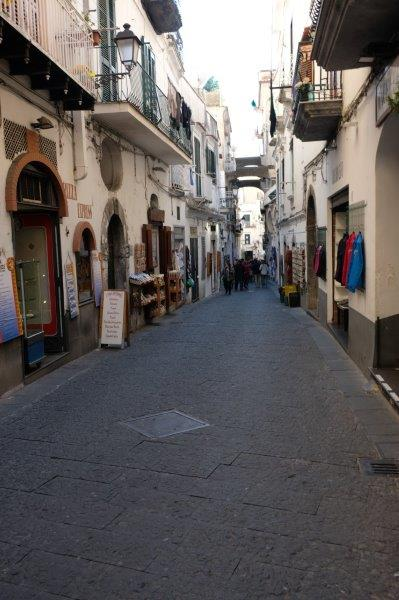 Eventually reaching Amalfi
