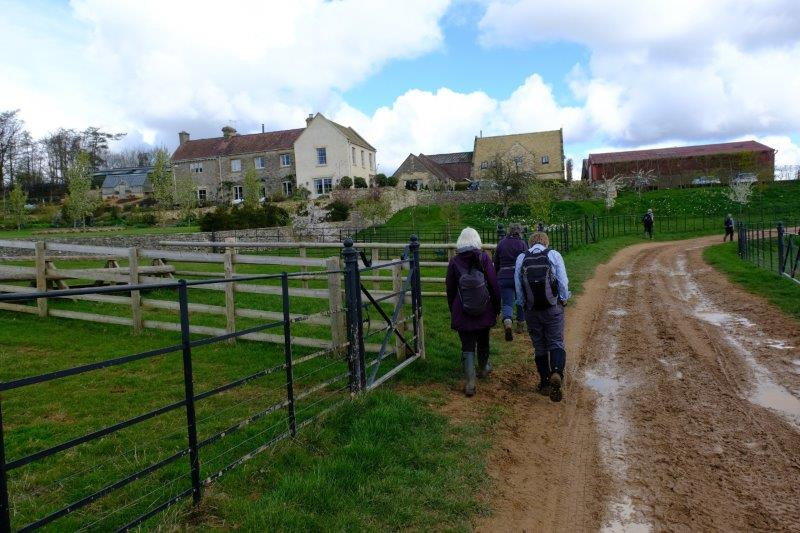 Our route now takes us past Kim Bailey's racing yard