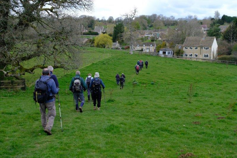 Before making our way down into Foxcote
