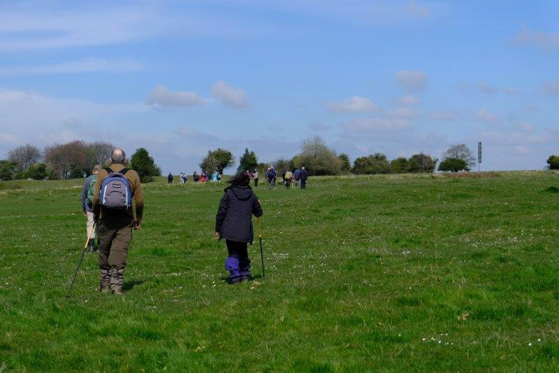 Now heading back over the Common