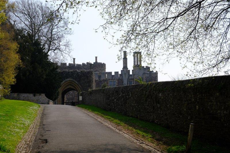 Entrance to Castle