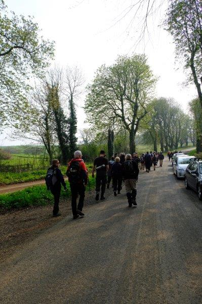 But undeterred we head off from Chavenage Green