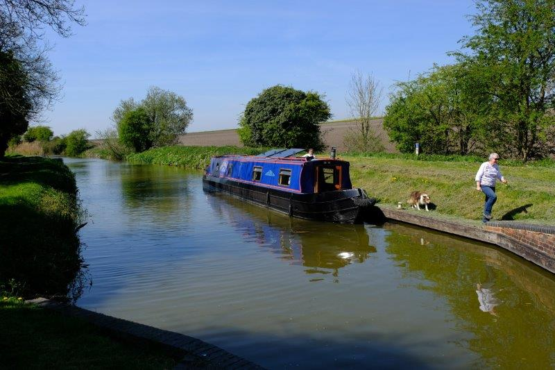 Eventually coming out at the Kennet and Avon Canal