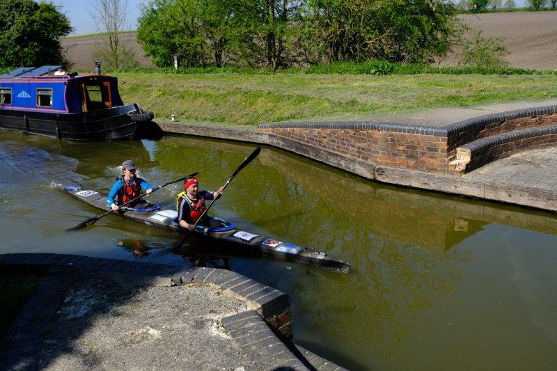 Where it is the weekend of the Devises to Westminster canoe race