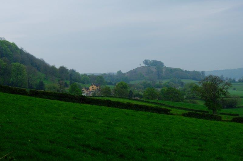 Downham Hill to the left