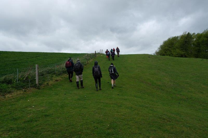 As we head off along the side of Miserden Park