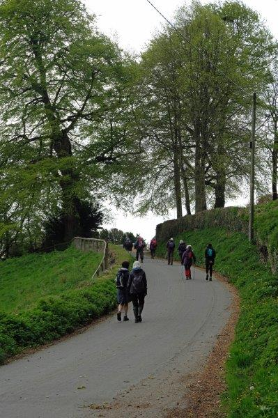 Then heading up into Duntisbourne Abbots