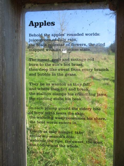 One of Laurie Lee's poems
