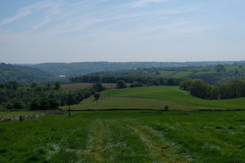 Looking back towards Nailsworth
