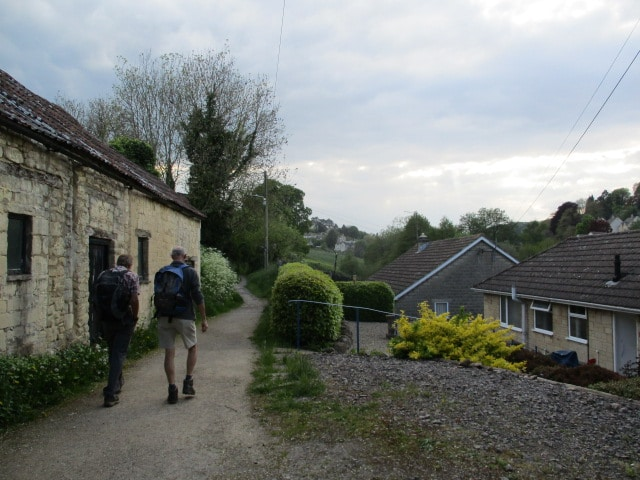 Then we head out of Nailsworth