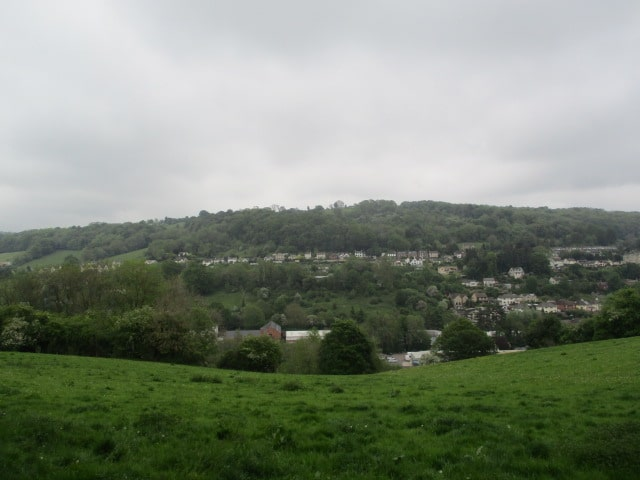 Views over the Brimscombe valley