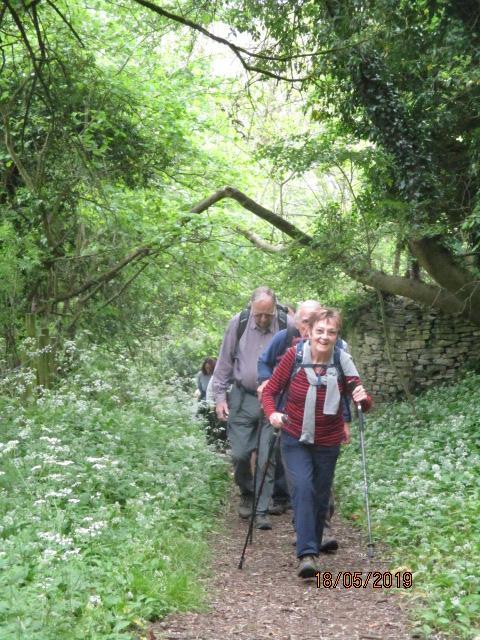 We head uphill and pass Bownham Common