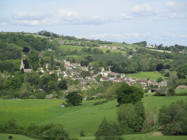 Views to Woodchester