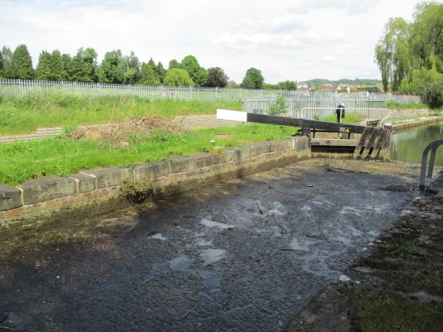 A lot of sludge on the canal here