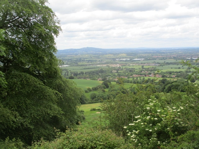 Views over to May Hill