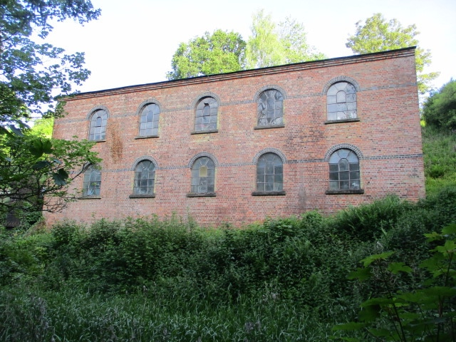 None of us can remember what this derelict building used to be