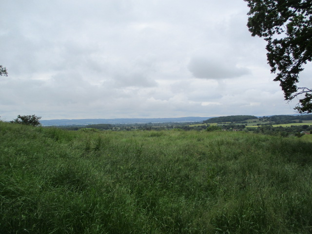 With the River Severn in the distance