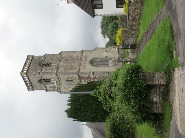 In Rockhampton churchyard