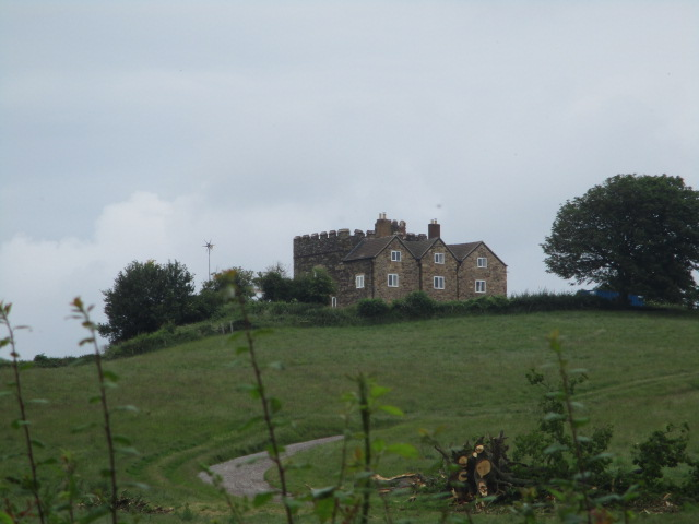 """the """"Haunted house"""" on the hill"""