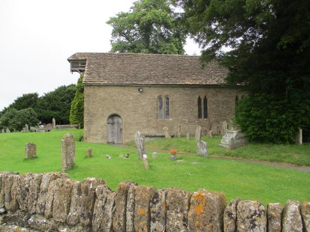 The church at Little Badminton