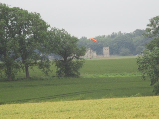 The wind sock - not going there today