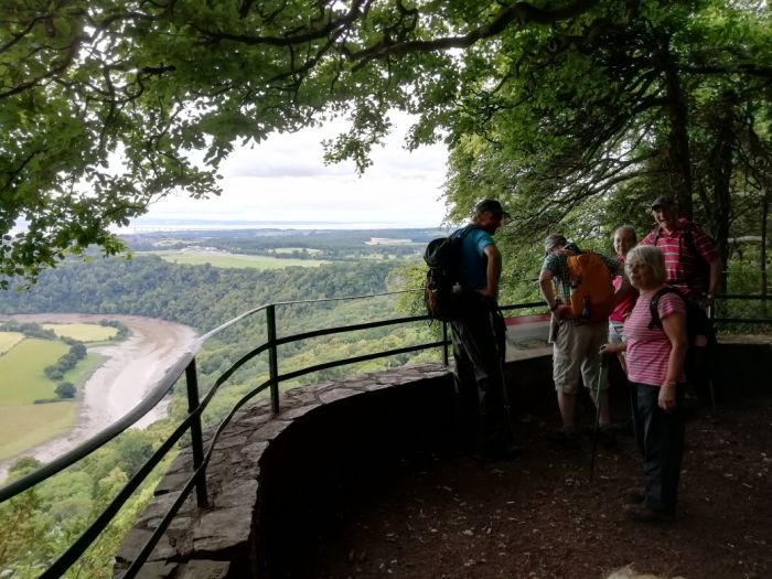 Eagle's Nest above the Wye