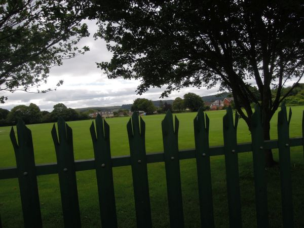 And gaze across the playing fields