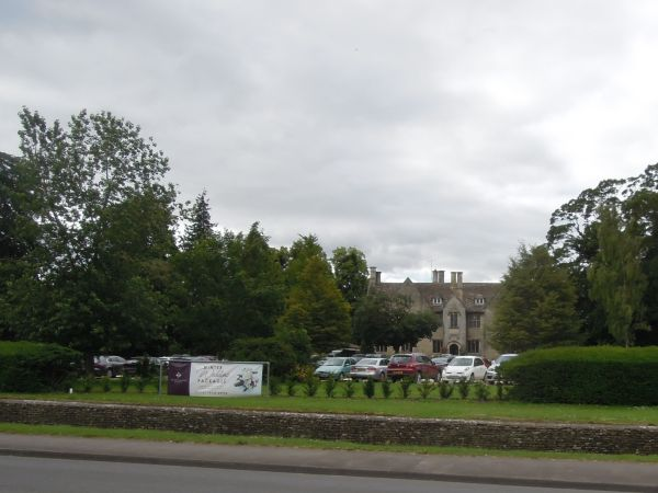 We walk by Stonehouse Court