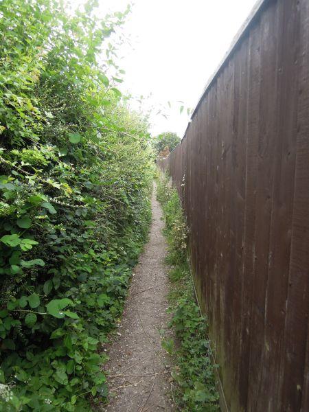 Follow a very narrow path