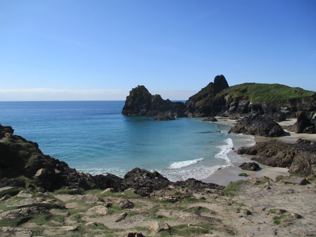 To the beautiful Kynance Cove