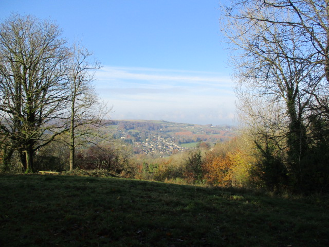 Views over the Nailsworth valley